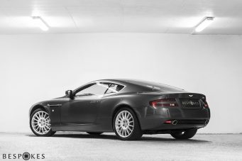 Aston Martin DB9 Rear View