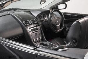 Aston Martin DB9 Volante (Convertible) Interior View