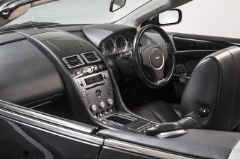 Aston Martin DB9 Volante (Convertible) Interior View