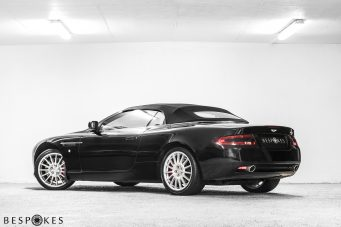 Aston Martin DB9 Volante (Convertible) Rear View