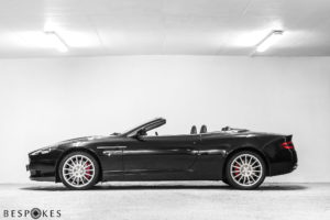 Aston Martin DB9 Volante (Convertible) Side View