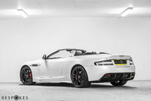 Aston Martin DBS Rear View
