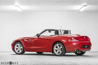 BMW Z4 Roadster Rear View