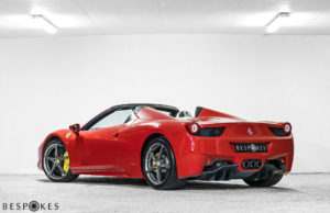 Ferrari 458 Rear View