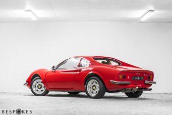 Ferrari Dino Rear View