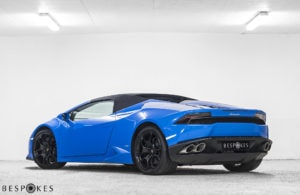 Lamborghini Huracan with Roof Up