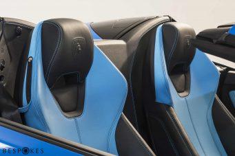 Lamborghini Huracan Blue Leather Seats