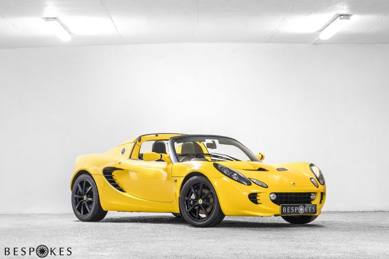 Photo of our Yellow Lotus Elise R for Hire