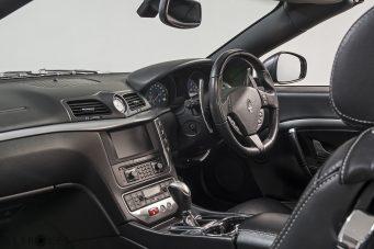 Maserato Gran Cabrio Interior