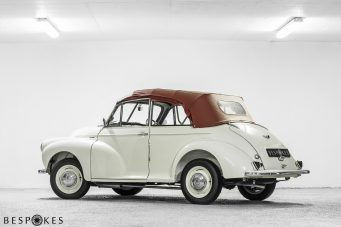 Morris Minor Rear View