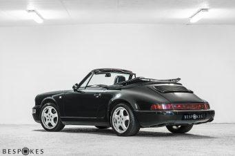 Porsche 964 Rear View