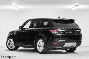 Range Rover Sport Rear View