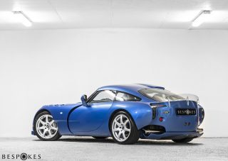 TVR Sagaris Rear View